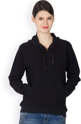 Hypernation Full Sleeve Solid Women,s Jacket