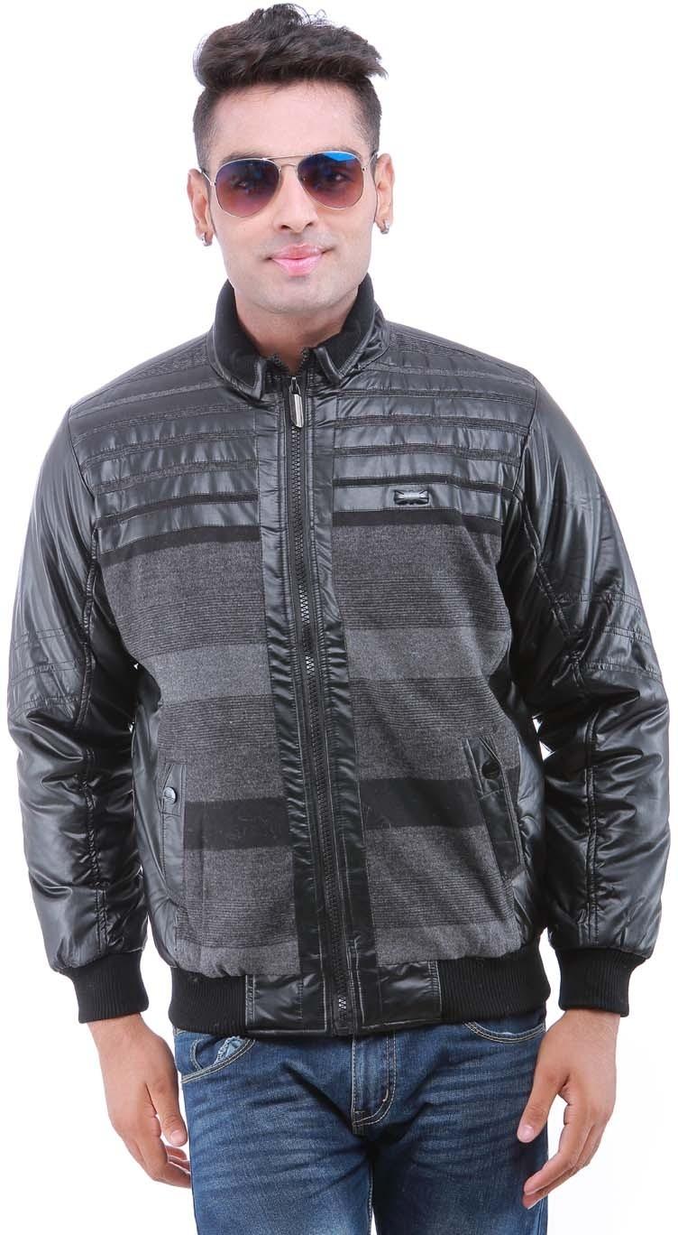 Oceanic Full Sleeve Self Design Men's Jacket - Knit Wear