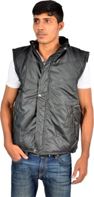 Versalis Sleeveless Striped Men's Quilted Jacket
