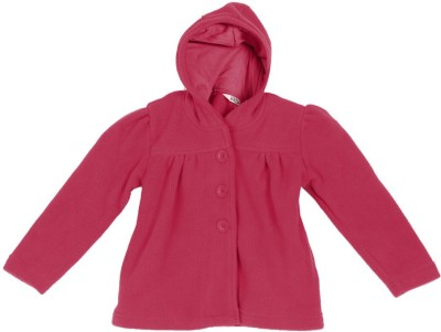 People Full Sleeve Solid Girl's Jacket