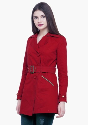 FabAlley Full Sleeve Solid Women's Jacket