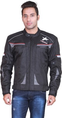 Pegasus Full Sleeve Solid Men's Motorcycle Jacket
