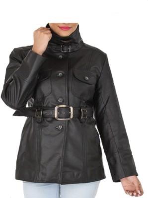 shamaleather Full Sleeve Solid Women's Jacket
