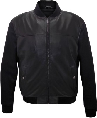 Cascara Full Sleeve Solid Men's Jacket