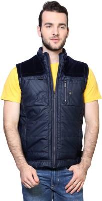 Van Heusen Sleeveless Solid Men's Jacket