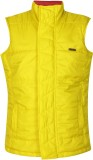 UFO Sleeveless Solid Boys Jacket
