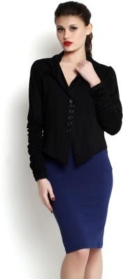 TheGudLook Full Sleeve Solid Women's Shell Jacket