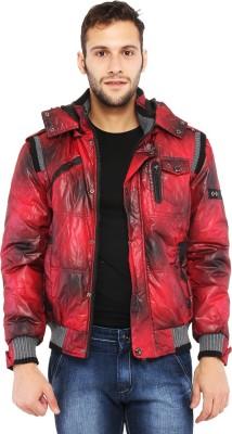 Killer Full Sleeve Geometric Print Men's Quilted Jacket