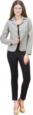 Zoae Full Sleeve Solid Women's Jacket
