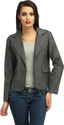Cottinfab Full Sleeve Self Design Women's Jacket at flipkart