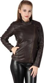 Zipper Full Sleeve Solid Women's Jacket