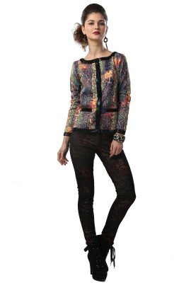 Glam & Luxe Full Sleeve Printed Women's Bolero Jacket