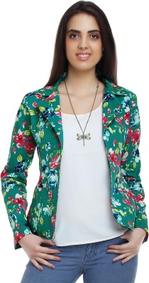 20Dresses Full Sleeve Floral Print Women's Woven Jacket