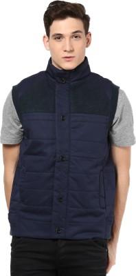 Orewa Sleeveless Self Design Men's Jacket