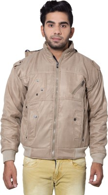 Amp Colors Full Sleeve Solid Men's Jacket
