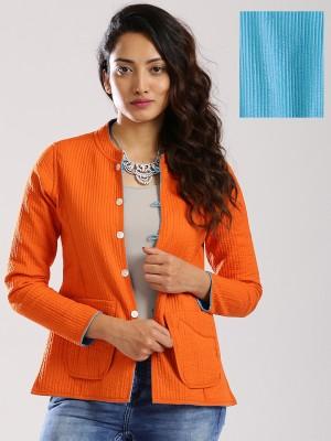 Anouk Full Sleeve Solid Women,s Jacket