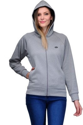 Aspasia Full Sleeve Solid Women's Jacket