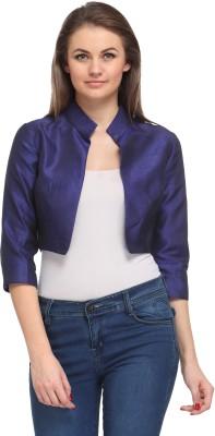 Fashionwalk 3/4 Sleeve Solid Women's Jacket