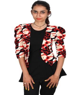 Vanya Enterprises 3/4 Sleeve Printed Women's Jacket