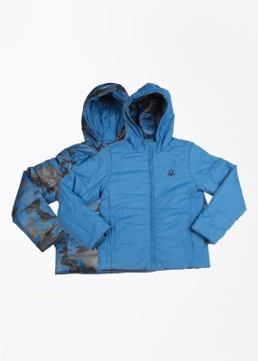 United Colors of Benetton Full Sleeve Baby Boys Quilted Jacket