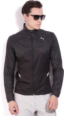 Puma Full Sleeve Solid Mens Sports Jacket Jacket