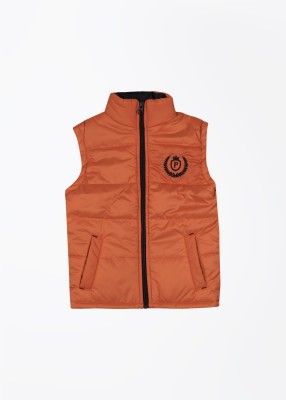People Sleeveless Striped Boy's Jacket