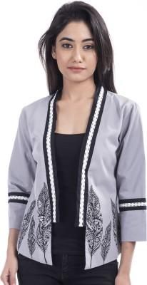 Tasrika 3/4 Sleeve Solid Women's Jacket