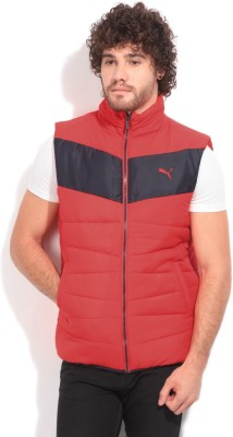 Puma Sleeveless Striped Men's Quilted Jacket