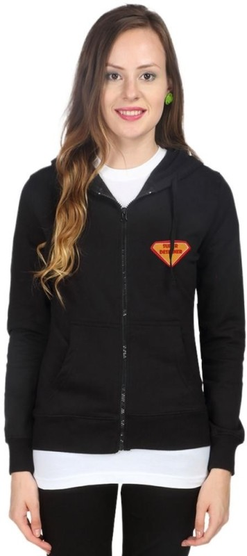 Campus Sutra Full Sleeve Solid Women Fleece Jacket
