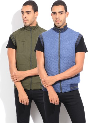 Fort Collins Sleeveless Checkered Men's Jacket