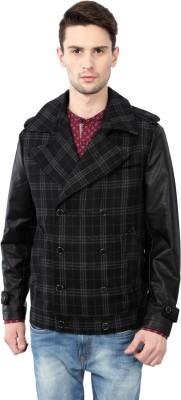 Van Heusen Full Sleeve Checkered Men's Jacket