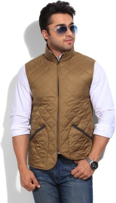 In Excess Sleeveless Solid Men's Jacket