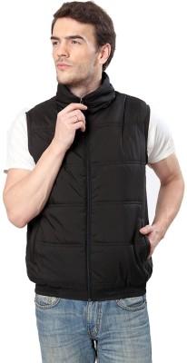 Elligator Sleeveless Solid Men's Casual Jacket