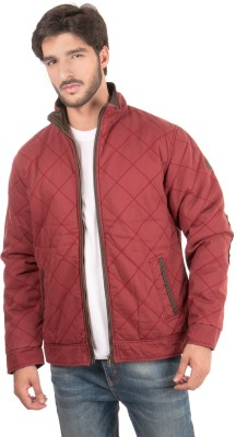 Again Full Sleeve Solid Men's Jacket