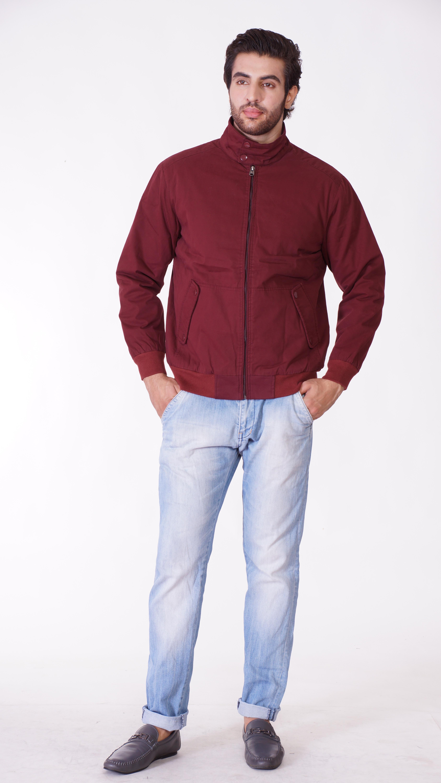 Oracle Full Sleeve Solid Men's Field Jacket - Knit Wear