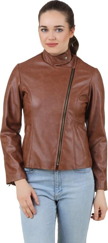 PerryJones Full Sleeve Solid Women's Jacket