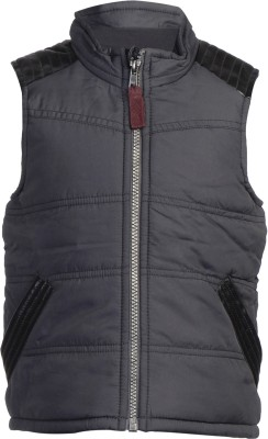Addyvero Sleeveless Solid Girl's Jacket