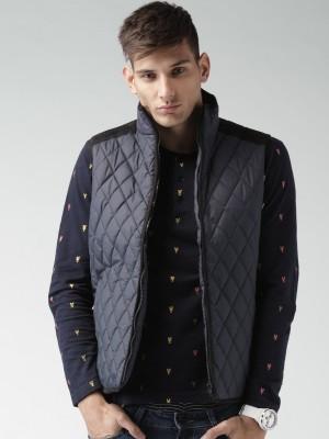 Mast & Harbour Sleeveless Solid Men,s Jacket