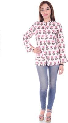 Om Prints Full Sleeve Printed Women's Jacket