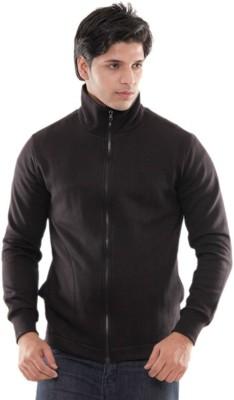 Casual Tees Full Sleeve Solid Mens Jacket