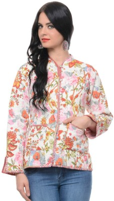 Panash Full Sleeve Printed Women's Reversible Jacket