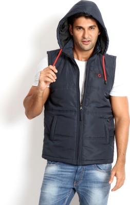 Rodid Sleeveless Solid Men's Gilet Jacket