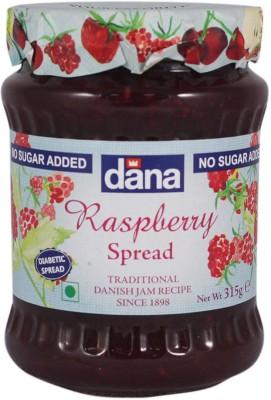 Dana Raspberry Diabetic 315 g Jam(Pack of 1)