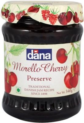 Dana Morello Cherry preserve 340 g Jam(Pack of 1)