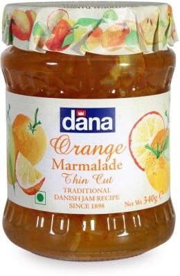 Dana Orange Preserve 340 g Jam(Pack of 1)