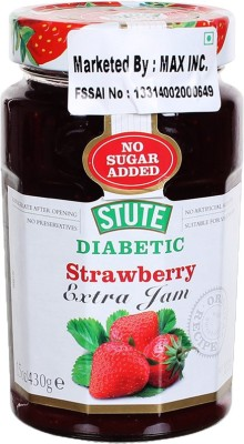 Stute Diabetic Strawberry 430 g Spread(Pack of 1)