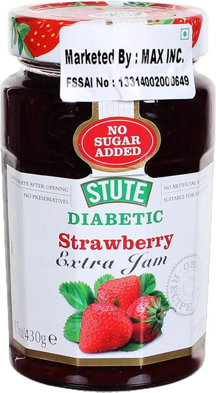 Stute Diabetic Strawberry 430 g Spread