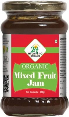 24 Mantra organic 350 g Jam(Pack of 1)