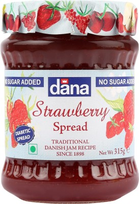 Dana Strawberry 315 g Spread(Pack of 1)