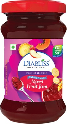 DiaBliss Diabetic Friendly Mixed Fruit - Pack Of 2 200 g Jam(Pack of 2)